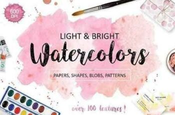 1809035 Bright watercolor textures pack 945606 3