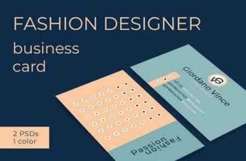 1809041 Fashion Designer Business Card 2766337 3
