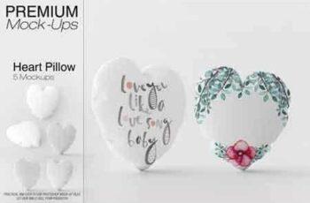 1809043 Heart Pillow Mockup Pack 3451133 4