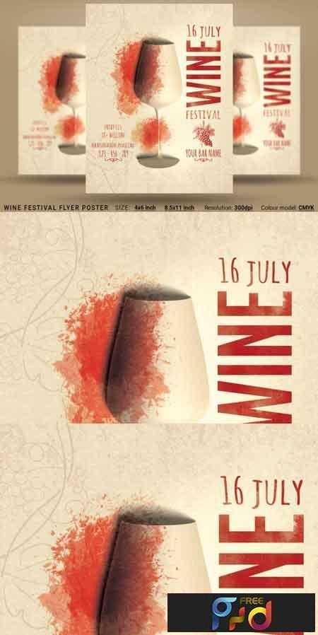 1809049 Wine Festival Flyer Poster 3471428 1