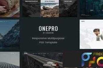 1809055 OnePro - Creative Multipurpose PSD Template - 15082258 4