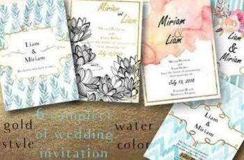 1809057 5 invitation Gold Style pastel tone 676762 5