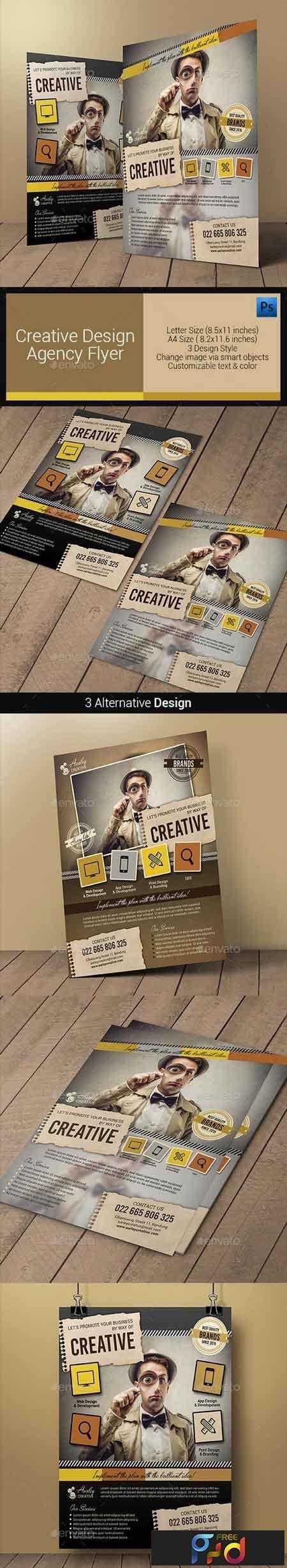 1809092 Creative Design Agency Flyers 10880677 1