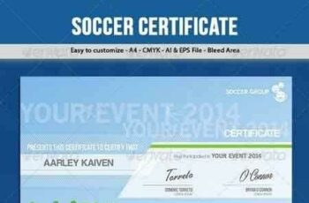1809098 Soccer Football Certificate 6467600 7