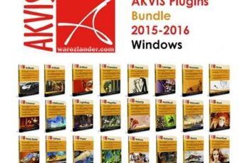 1701348 AKVIS Plugins Bundle 2016 for Adobe Photoshop Win July 2016