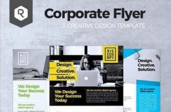 1809104 Creative Corporate Flyer Vol. 01 20367484 6