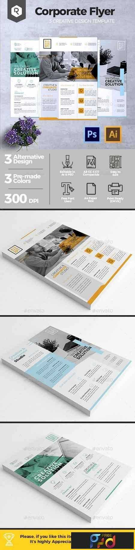1809105 Creative Corporate Flyer Vol. 02 20391929 1