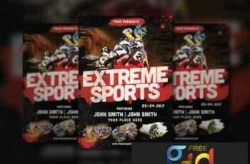 1809120 Extreme Sports Flyer 2800986 3