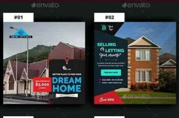 1809124 Real Estate Instagram Banners Ads - 15 PSD 15862048 4