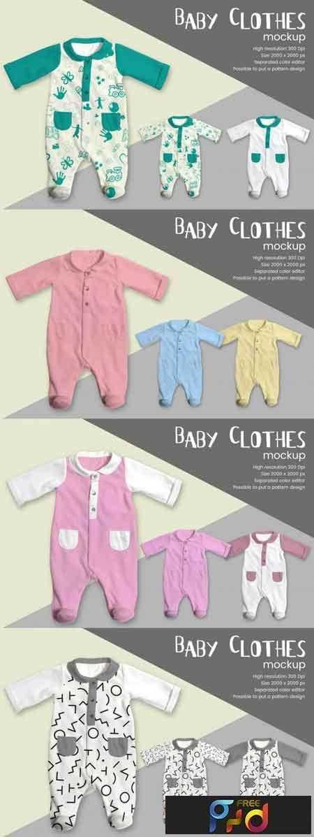 1809126 Baby Clothes Mockup 3474338 1