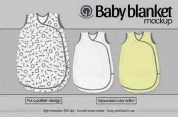 1809136 Baby blanket mockup 3475009 3
