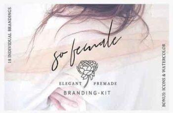 1809162 So Female Branding Kit +Watercolours 2207493 6