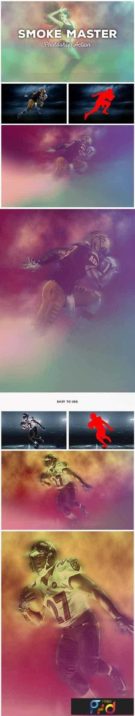 1809210 Smoke Master - Photoshop Action #16 17977822 1