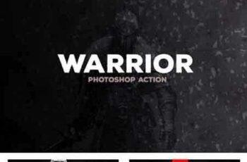 1809212 Warrior - Photoshop Action #38 18719124 4