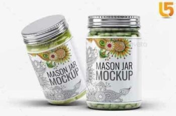 1809215 Mason Jar Mock-Up V2 19529774 3