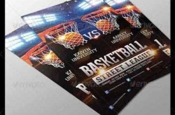 1809238 Basketball Game Flyer 6534573 5