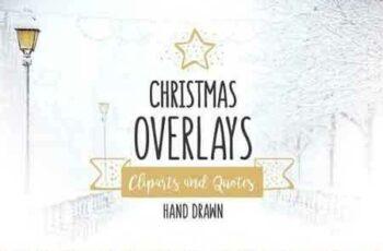 1809242 Christmas Overlays – Vector Set 1011042 4
