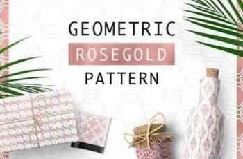 1809250 Geometric Rosegold Pattern 1480116 5