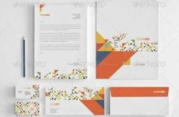 1809264 Colorful Triangles Stationery Pack 7550531 3