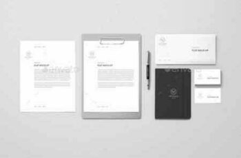 1809268 Corporate Mockup - Clean Grey 15796513 4