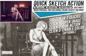 1809269 Quick Sketch Fast and Reliable Photoshop Action 22307785 5