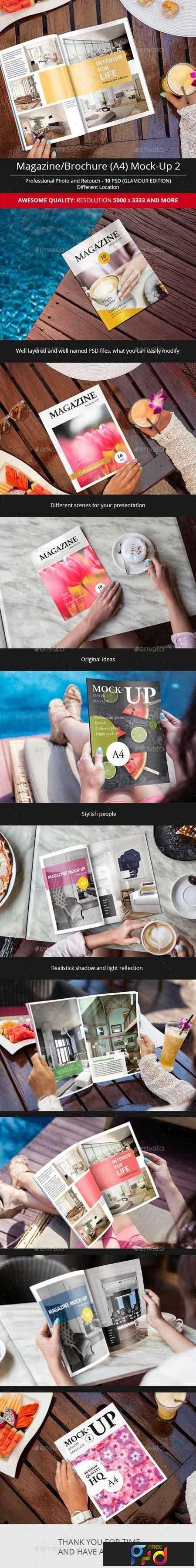1809274 Magazine Mock-Up Glamour Edition 15930738 1