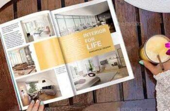 1809274 Magazine Mock-Up Glamour Edition 15930738 2
