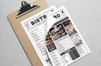 1809276 Newspaper Style Food Menu 18368690 4