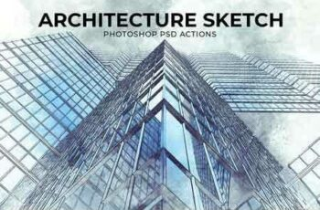1809279 Architecture Sketch PSD Action 2815347 5