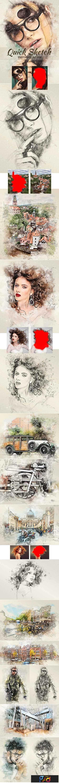 1809285 Quick Sketch Photoshop Action 22385491 1