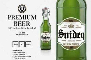 1809290 9 Premium Beer Labels V2 15020080 7