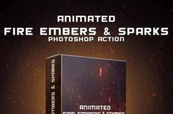 1809297 Animated Fire Embers & Sparks Photoshop Action 19480645 6