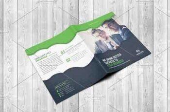 1810001 Corporate Bi-Fold Brochure Template 2635548 2