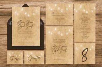1810029 Vintage Wedding Invitation Ac.35 3475204 6