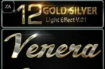1810060 Gold Silver Text Effect 22370241 5