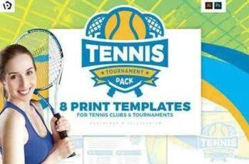 1810073 Tennis Templates Pack 2601123 4