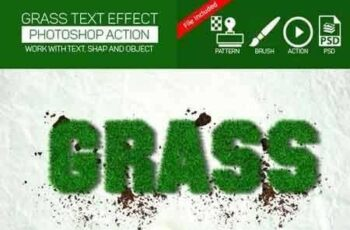 1810112 Realistic Grass Effect Action 17067440 2
