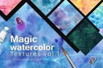 1810115 Magic Watercolor Textures Vol. 1 H29F5R 4