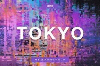 1810127 Tokyo City Glitch Bgs Vol. 01 2802233 5