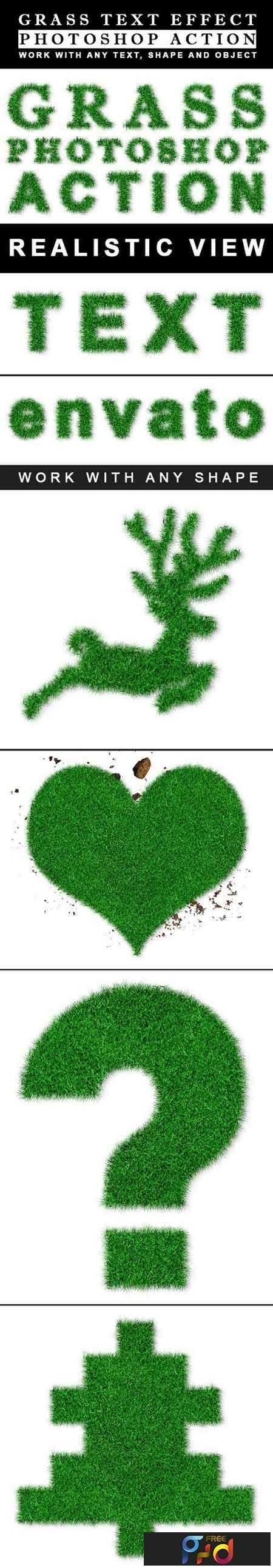 1810158 Grass Effect Generator Action 22257612 1