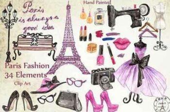 1810177 Paris Fashion Clipart 23377 6