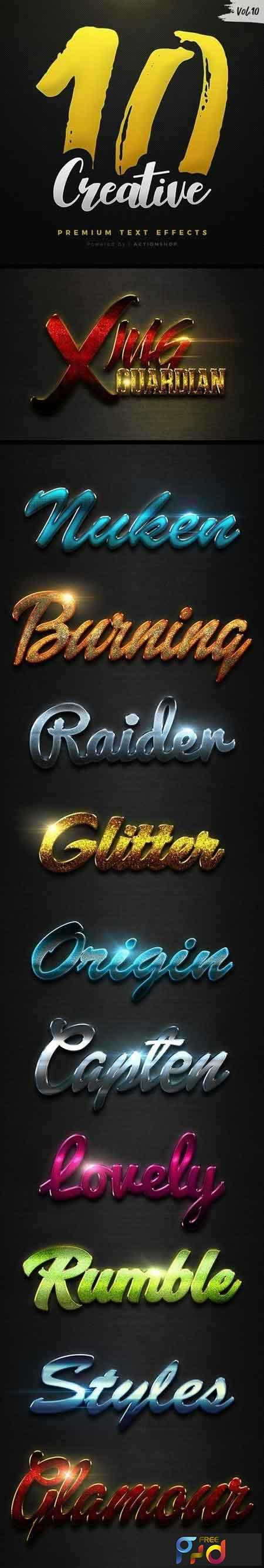1810184 10 Creative Text Effects Vol.10 21118588 1