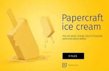 1810191 Papercraft ice cream 1796297 6