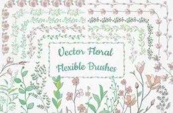 1810217 Flexible Floral Brushes 1630761 3