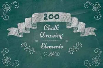 1810233 200 Chalk Drawing Elements 946709 2