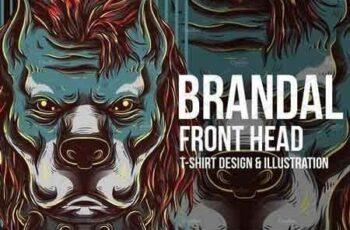 1810285 Brandal Front Head Illustration 579006 7