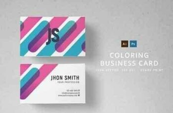 1810289 Coloring Business Card 2861723 6