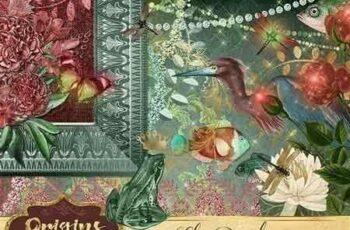 1810293 Lily Pond Digital Scrapbooking Kit 1824300 4