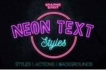 1810298 Neon Text Layer Styles & Extras 2279828 7