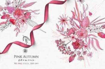 1810299 Pink Autumn Flowers 2862429 5